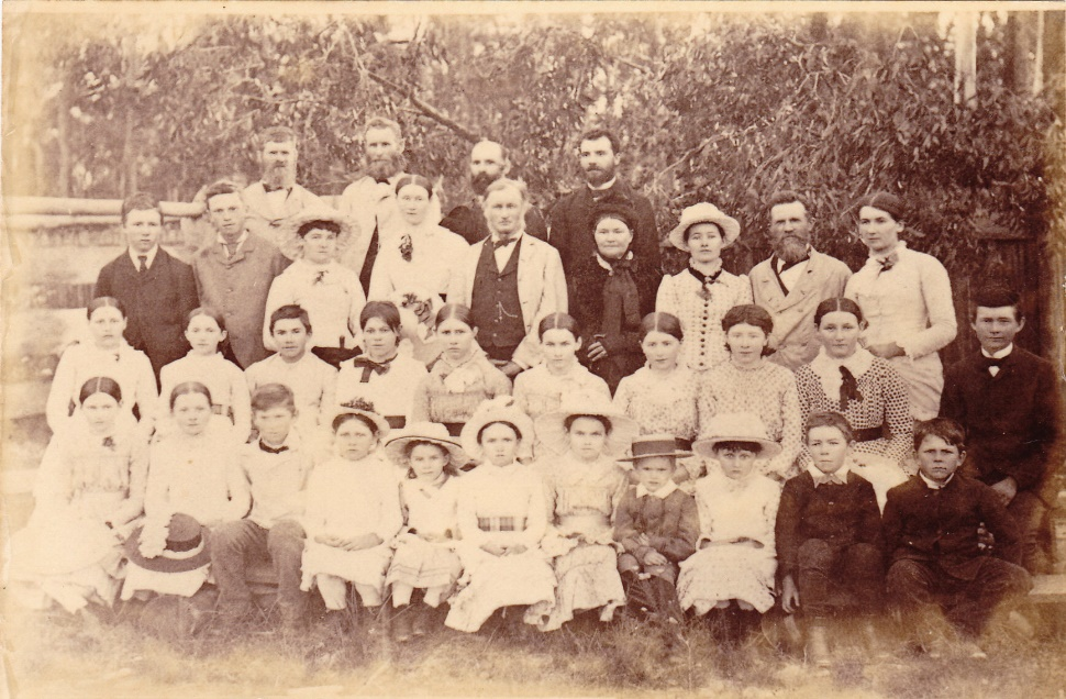 Ashlea Presbyterian Church School group, c 1888